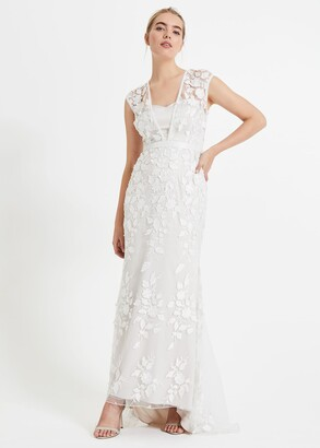 Phase Eight Peony 3d Lace Wedding Dress