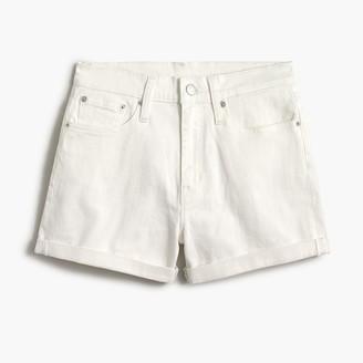J.Crew Classic denim short in white wash