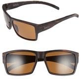 Smith Optics Women's 'Outlier Xl' 56Mm Polarized Sunglasses - Matte Tortoise/ Polar Brown