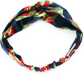 Gucci GG Wallpaper print headband - women - Silk - One Size
