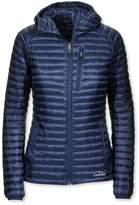 L.L. Bean L.L.Bean Womens Ultralight 850 Down Sweater Hooded Jacket