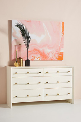 Anthropologie Merriton Six-Drawer Dresser By in White Size ALL