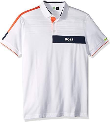 457ff8787 Hugo Boss White Polo Shirt - ShopStyle