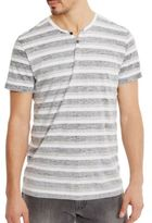 Kenneth Cole Reverse Printed Henley