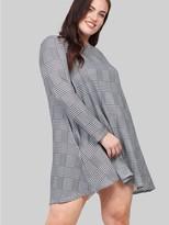 M&Co Izabel Curve checked swing dress