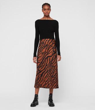 AllSaints Hera Zephyr Dress