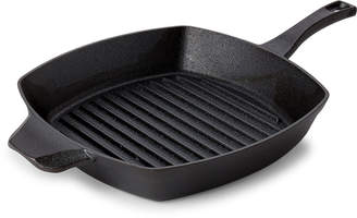 "Calphalon 10"" Pre-Seasoned Cast Iron Square Grill Pan"