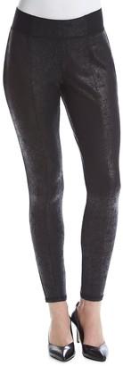 Jones New York Women's Distressed Foil Ponte Legging