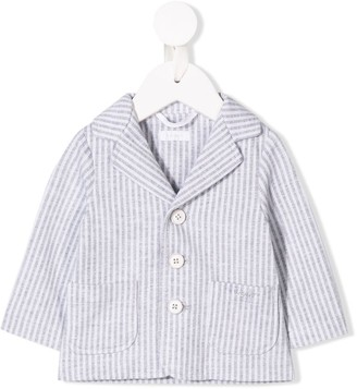 Il Gufo striped single-breasted blazer