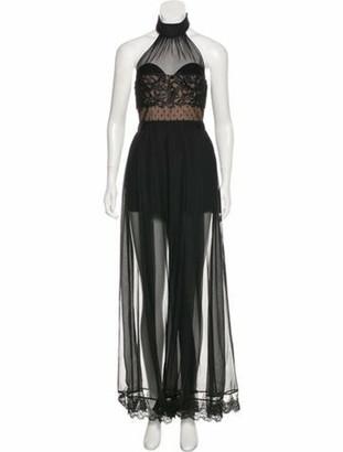 Three floor Natural High Embellished Dress Black