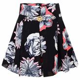 Versace Girls Floral Skirt