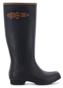 Chooka Women's City Solid Tall Rain Boot Women's Shoes