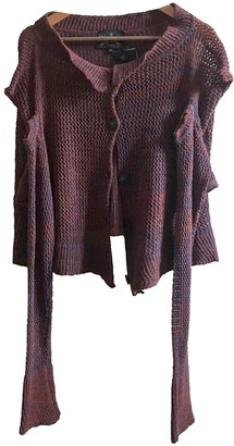 Vivienne Westwood Burgundy Wool Knitwear for Women