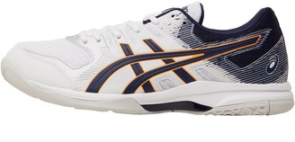 Asics Mens Gel Rocket 9 Indoor Sports Shoes White/Peacoat