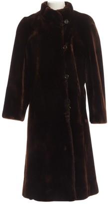 N. Revillon \N Brown Shearling Coats