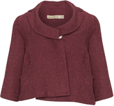 Isolde Roth Plus Size Cropped linen jacket
