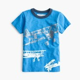 J.Crew Boys' glow-in-the-dark planes T-shirt