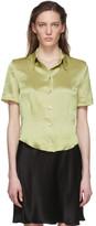 Nanushka Green Clare Shirt