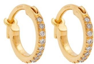 Ileana Makri Diamond & 18kt Gold Earrings - Yellow Gold