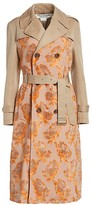 Junya Watanabe Tapestry Embroidered Trench Coat