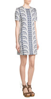 Vanessa Seward Printed Cotton Blend Dress