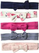 "Hudson Baby Pretty Patterns"" 5-Pack Headbands"
