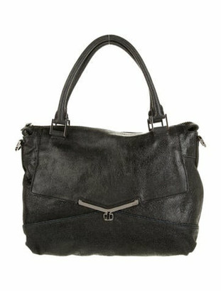Botkier Top Handle Satchel Bag Black