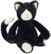 Jellycat Bashful Cat Black & White Medium