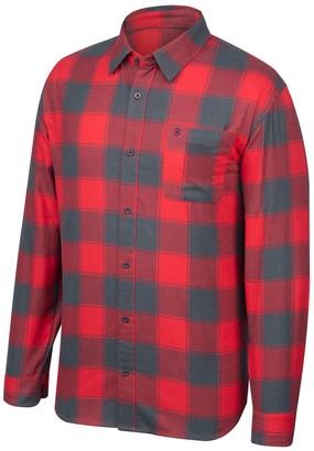 NCAA Unbranded Men's Ohio State Buckeyes Flannel Shirt