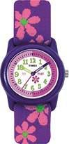 Timex Kids' Pink Flower Strap watch #T89022