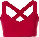 NO KA 'OI No Ka' Oi crossed back sports bra