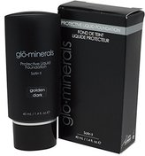 Glo Minerals Protective Liquid Foundation Satin II 1.4 Fl Oz Golden Dark by