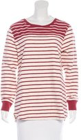 Closed Striped Long Sleeve T-Shirt
