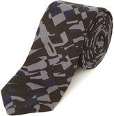 Hugo Camo Patterned Tie