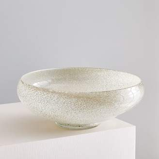 west elm Jade Colored Glass Centerpiece Bowl