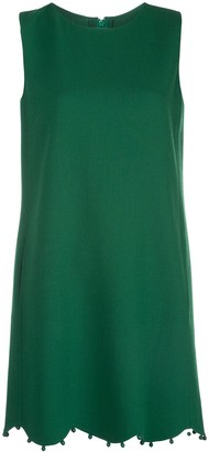 Oscar de la Renta Sleeveless Shift Dress