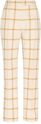 Martin Grant Checkered Trousers