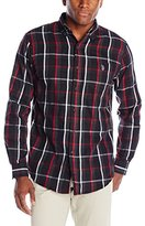 U.S. Polo Assn. Men's Button-Down Plaid Twill Shirt
