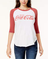Junk Food Clothing Cotton Coca-Cola Baseball T-Shirt