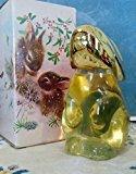 "Avon Snow Bunny"" Rabbit Figural Decanter Sweet Honesty Cologne 3oz."