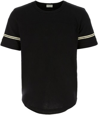 Saint Laurent 50s Signature Destroyed T-Shirt