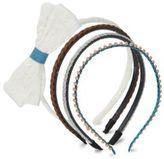 Capelli New York Four-Pack Headband Set