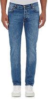 Isaia Men's Slim Jeans-LIGHT BLUE