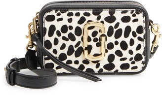 Marc Jacobs The Softshot 17 Genuine Calf Hair & Leather Crossbody Bag