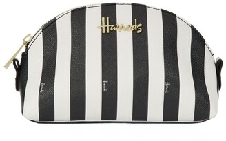 Harrods Boutique Multi Stripe Small Cosmetic Bag