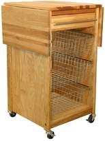 Catskill Craft Contemporary Basket Cart