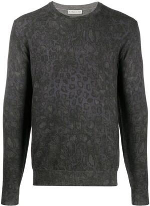 Etro Leopard-Pattern Jumper