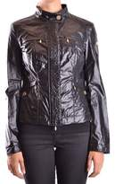 Geospirit Women's Black Cotton Outerwear Jacket.