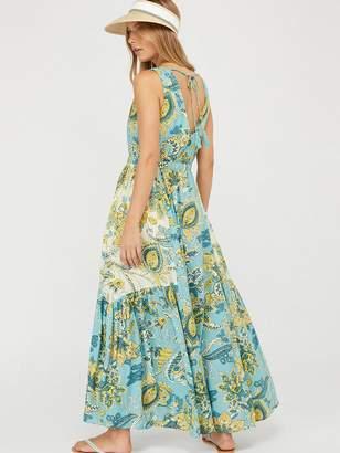 Monsoon Sarasa Ecovero Printed Maxi Dress