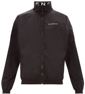 Givenchy Logo-print Zip-through Track Jacket - Mens - Black